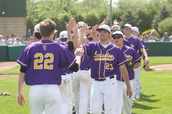 The Lexington Minutemen hype each other up before their Division II district semifinal baseball game. The high school baseball season was extended a week in 2019 via a democratic process through the OHSAA which is often misunderstood.