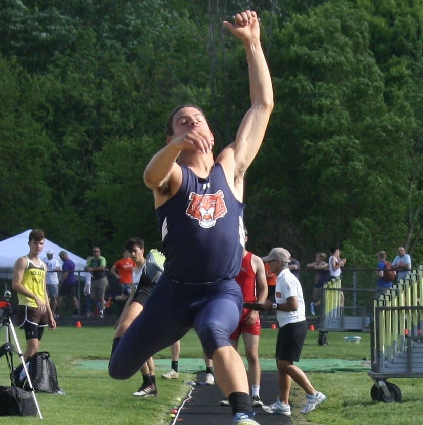 Crown the freshman: Galion long-jumper among regional champs
