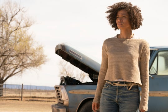 "Gugu Mbatha-Raw is a ""superhero"" with a difference in ""Fast Color,"" which screens Wednesday."