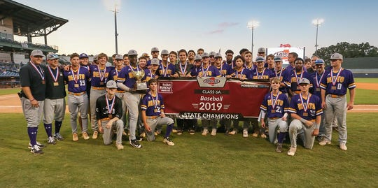The DeSoto Central Jaguars won their second consecutive Mississippi High School Activities Association Class 6A baseball championship beating St. Martin at Trustmark Park in Pearl.