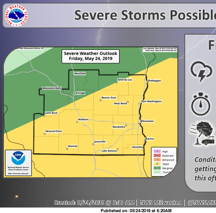 Severe storms, flooding rains possible later Friday and overnight