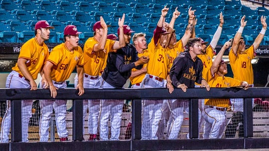 ULM upset its way to the semifinals of the Sun Belt Conference Baseball Tournament, knocking off no. 7 South Alabama, top overall seed Texas State and no. 4 Texas-Arlington.