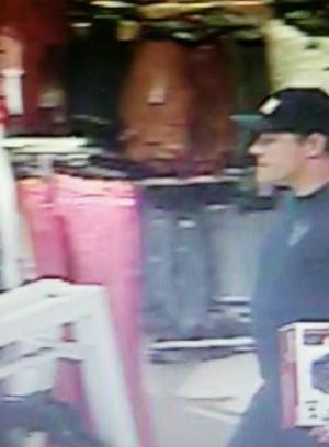 Prattville police are looking for this man in a theft case.