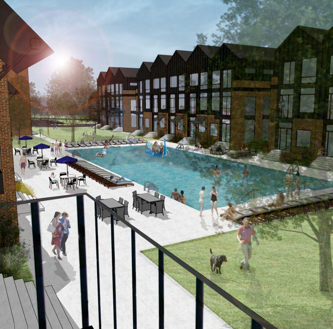 Mt. Juliet development: Mixed-use project with 220 apartments and townhomes to start