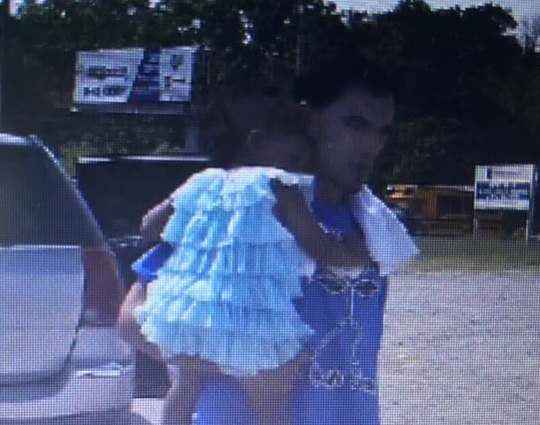 Octavia Shaw, who is 1, has been reported missing in Chattanooga. Matias Martinez, 37, reportedly took off on foot with the child following a traffic stop on Boyscout Road with Hamilton County Sheriff's Office, according to the Tennessee Bureau of Investigation.