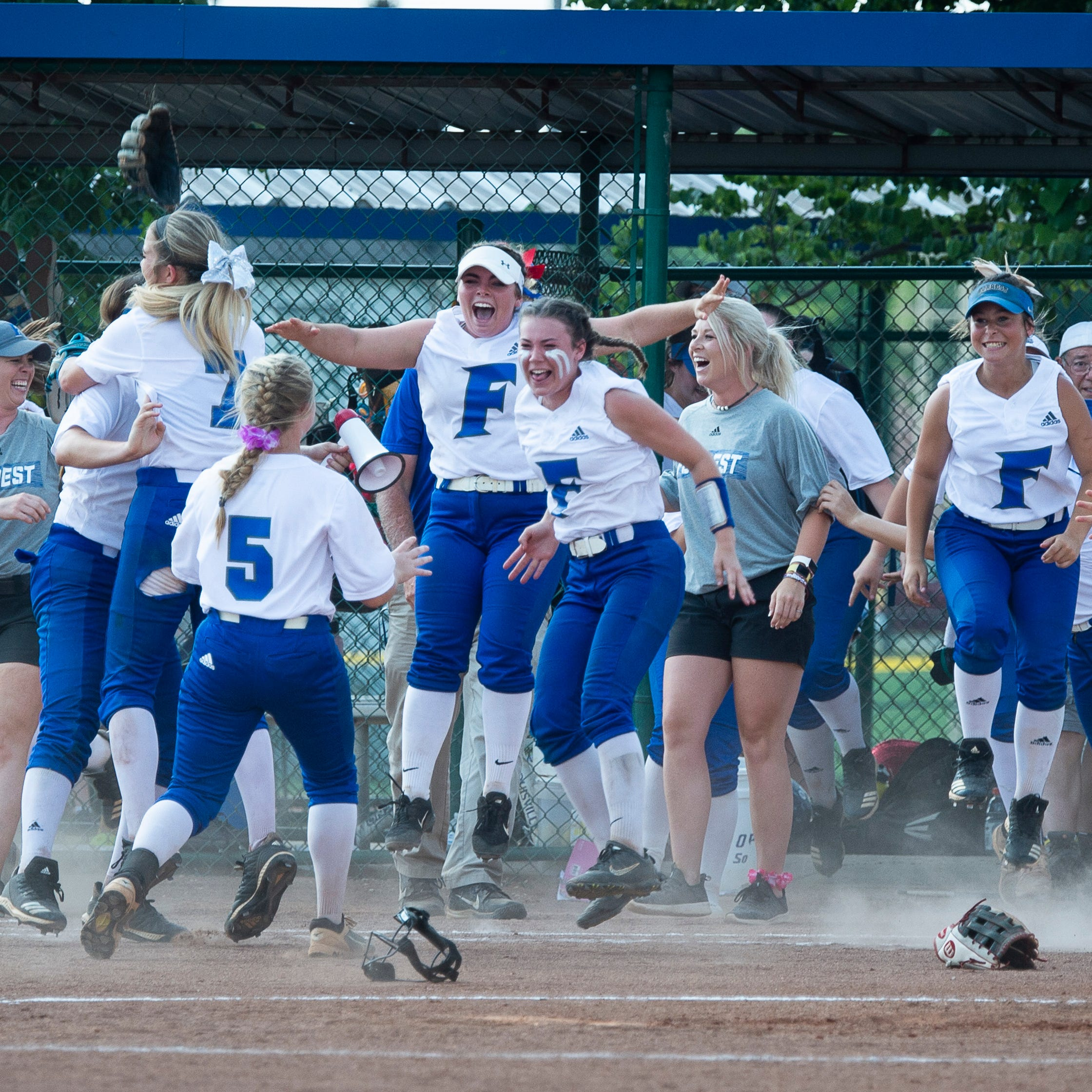 TSSAA Spring Fling 2019: Kennedy Gillespie's homer gives Forrest softball third state title