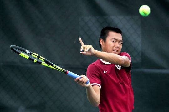 MBA's Baylor Sai has been named the Tennessean's 2019 Boys Tennis Player of the year.