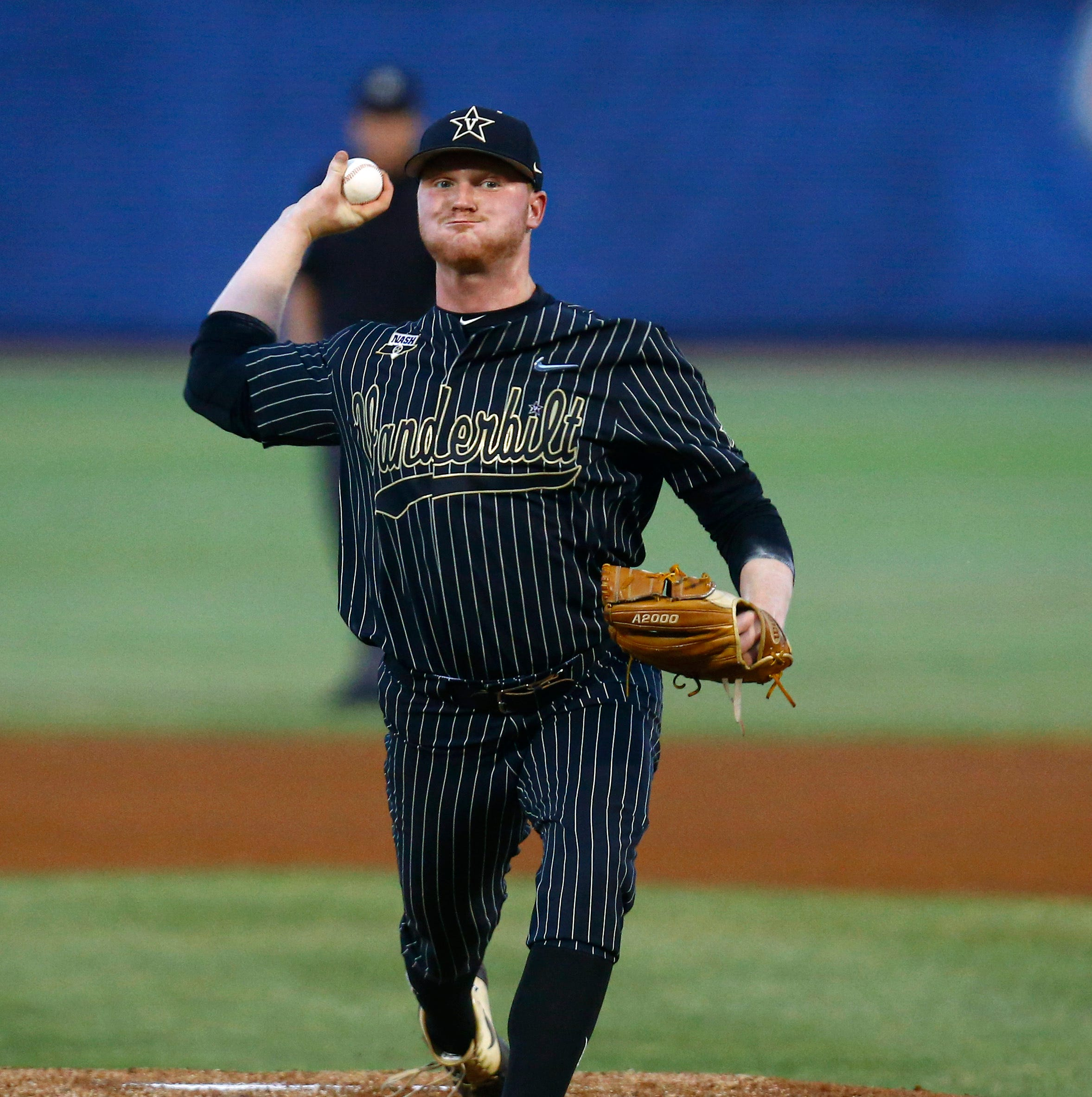 Drake Fellows pitches Vanderbilt into SEC Baseball Tournament semifinals