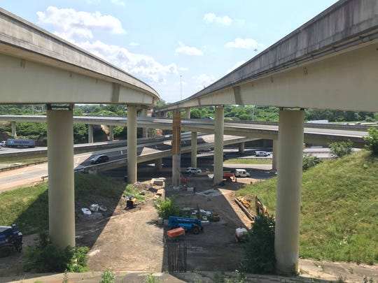 The area in which the bridge over I-65 on I-440 will be widened is pictured here.