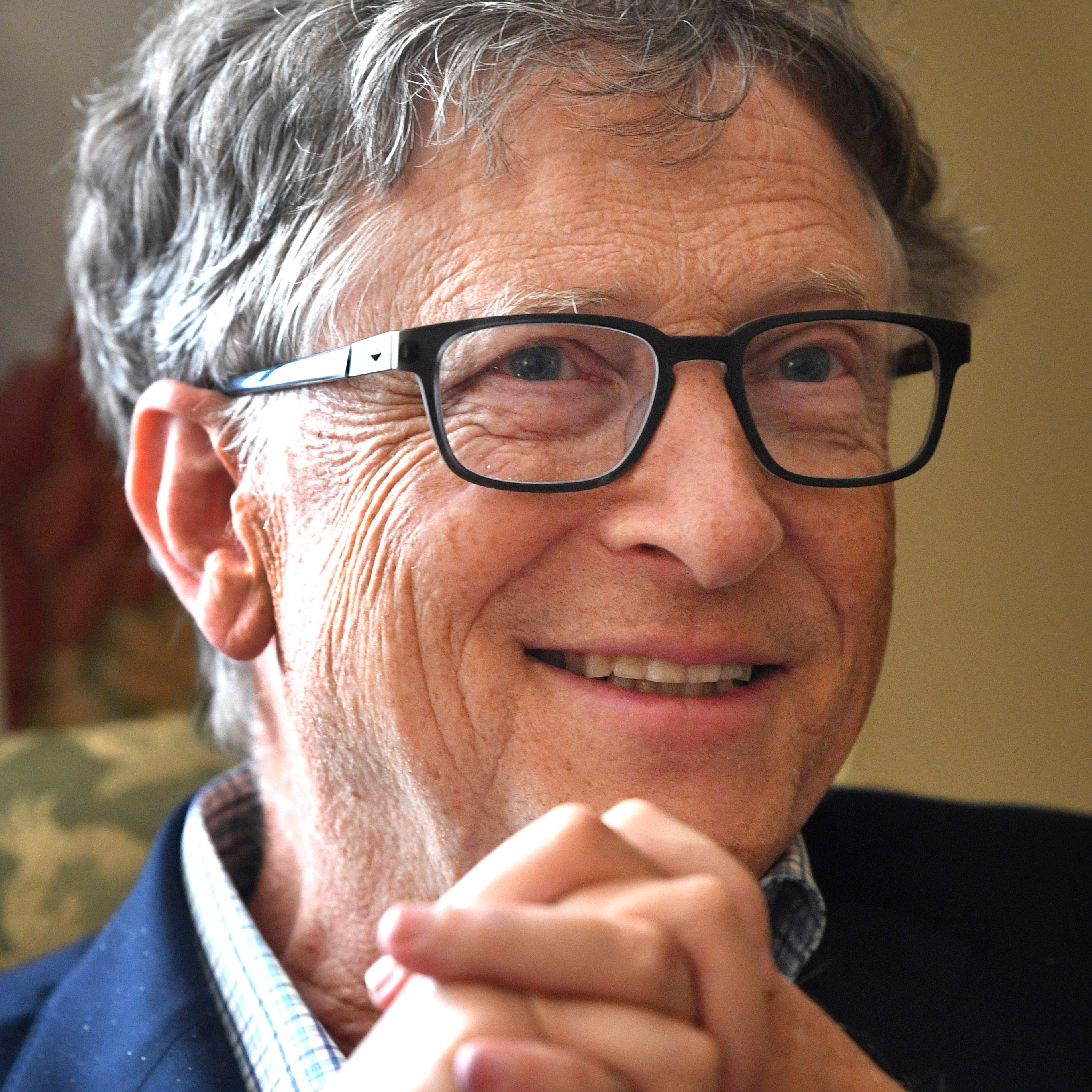 Bill Gates is in Tennessee to talk about education. Friday, May 24, 2019, in Nashville, Tenn.