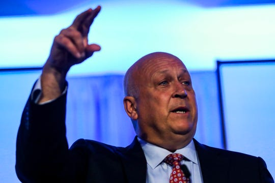 Baseball Hall of Famer Cal Ripken Jr. was the keynote speaker at the 30th annual Winged Foot Scholar-Athlete Award banquet on Thursday at the Ritz-Carlton Golf Resort.