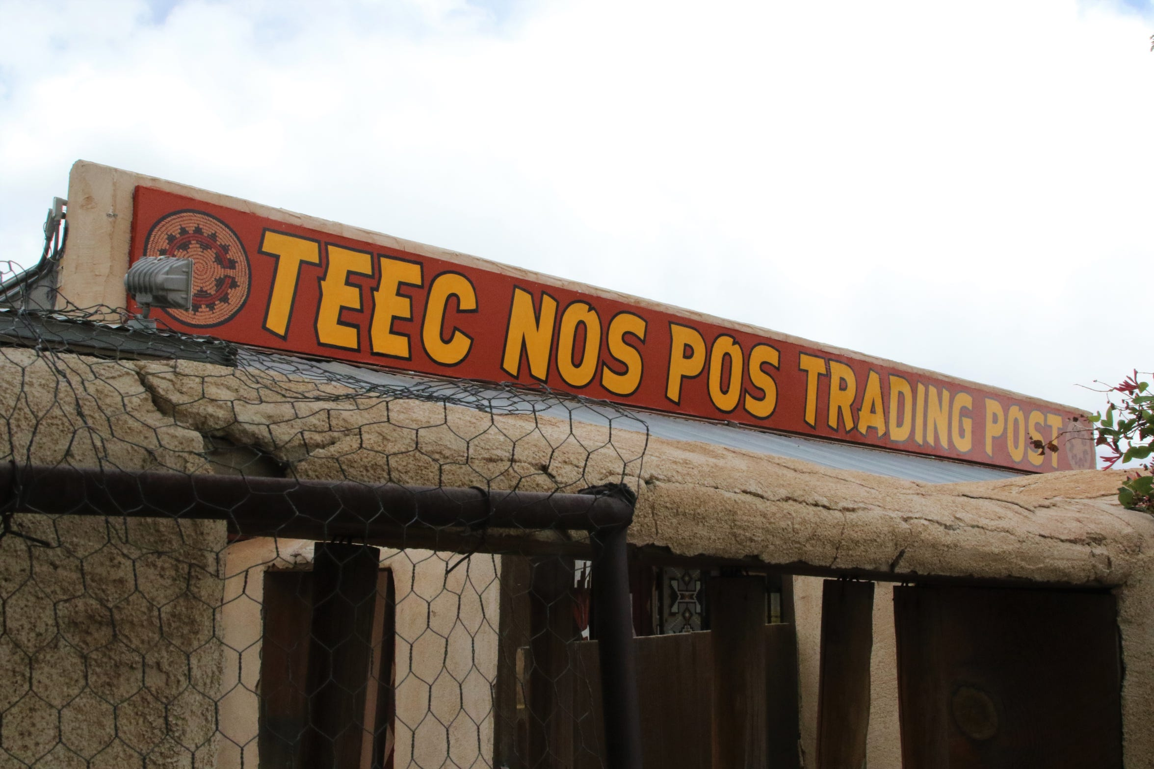 The Teec Nos Pos Trading Post was founded in 1905 and is one of the few in the area that continues to operate as a traditional trading post.