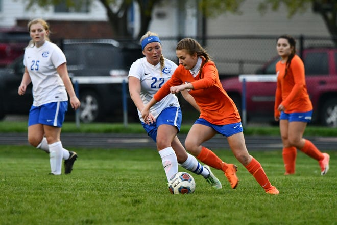 Garden City's Faith Staley scored eight goals last week to earn Athlete of the Week honors.