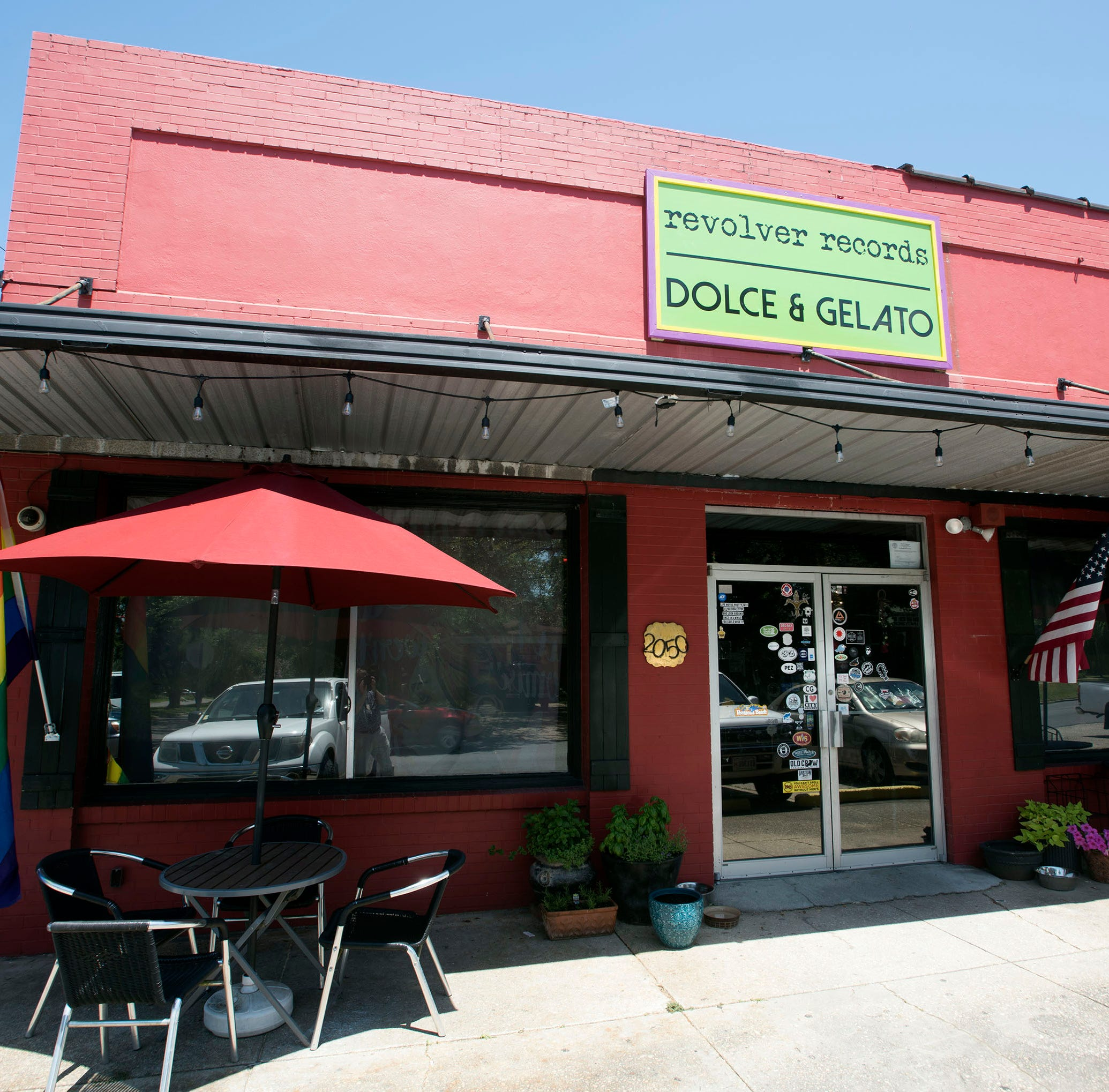 Sweets and beats: Dolce & Gelato, Revolver Records join forces in old City Grocery building