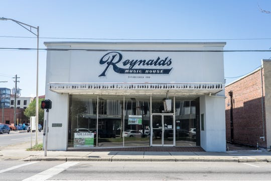 Reynalds Music House, located at 36 E. Garden St.