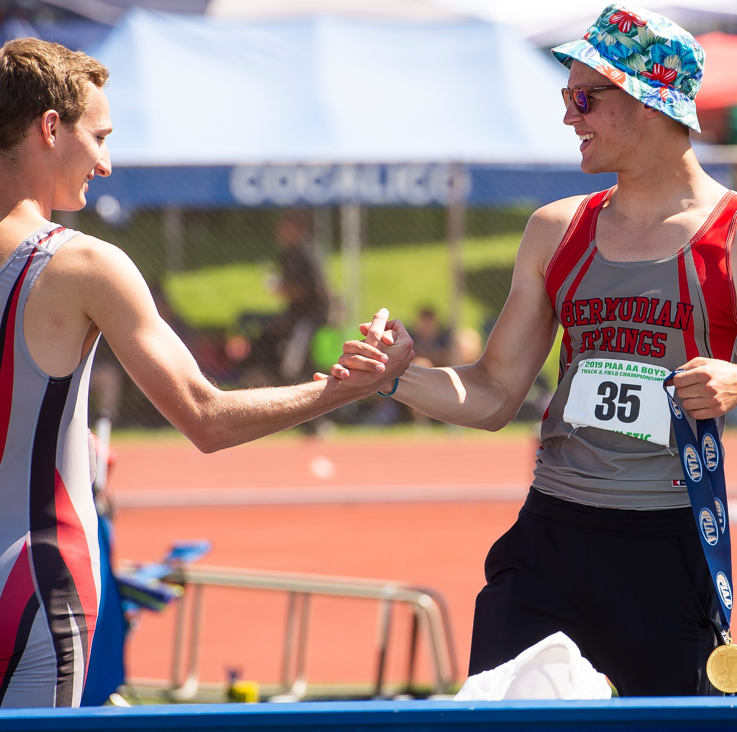 PIAA track and field Day 1 highlights: Bermudian junior claims gold in the high jump