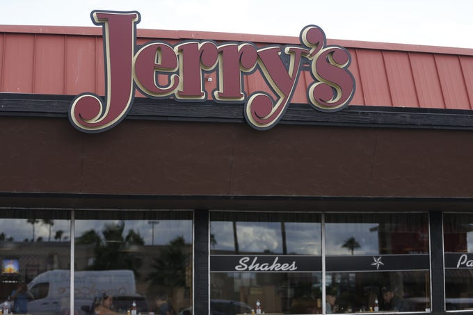 Jerry's, a diner in central Phoenix, will close its doors after 53 years of service in June. The exterior of the restaurant is pictured here on May 20, 2019.