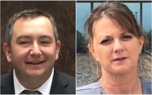 Arizona Reps. Ben Toma, R-Peoria, and Kelly Townsend, R-Mesa.