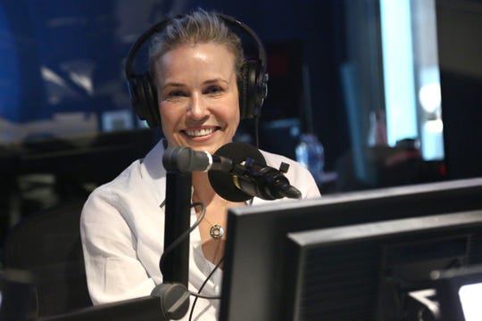 """I don't let the news determine my mood anymore,"" Chelsea Handler says."