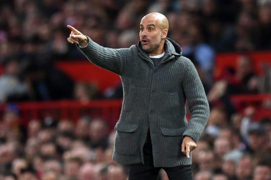Josep 'Pep' Guardiola, entrenador.