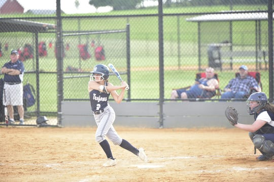 Chambersburg's Taylor Myers finishes her Chambersburg career one-hit shy of the program mark for hits with COVID-19 ending her senior season before it started.