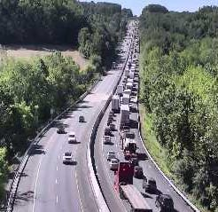 York County Coroner called to Interstate 83 crash; highway shut down between exits 4 and 8