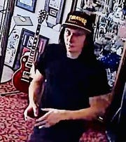 This man walked into a Las Vegas antique store on May 3 and stole a $2,300 guitar.