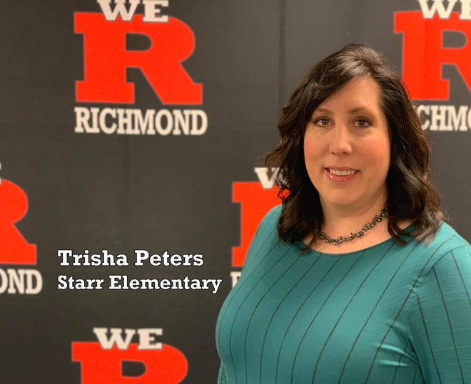 Trisha Peters is the Teacher of the Year for Richmond Community Schools for 2018-2019.