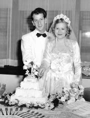 Robert and Norma Jean Stone, both graduates of Salem High School, got married in 1950.