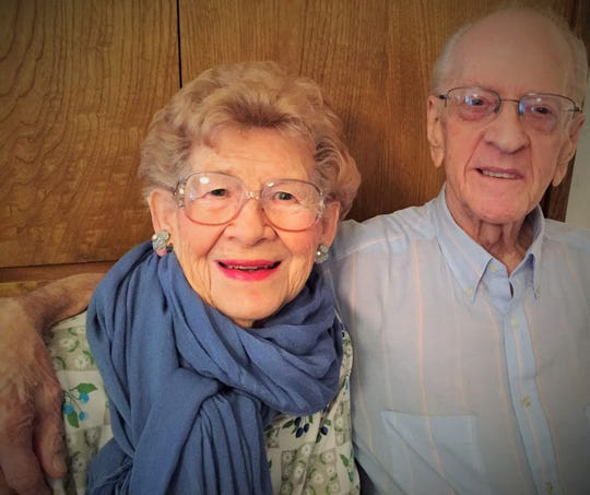Robert and Norma Jean Stone were married for nearly 70 years.