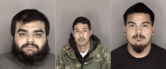 Three suspects arrested on suspicion of kidnapping.
