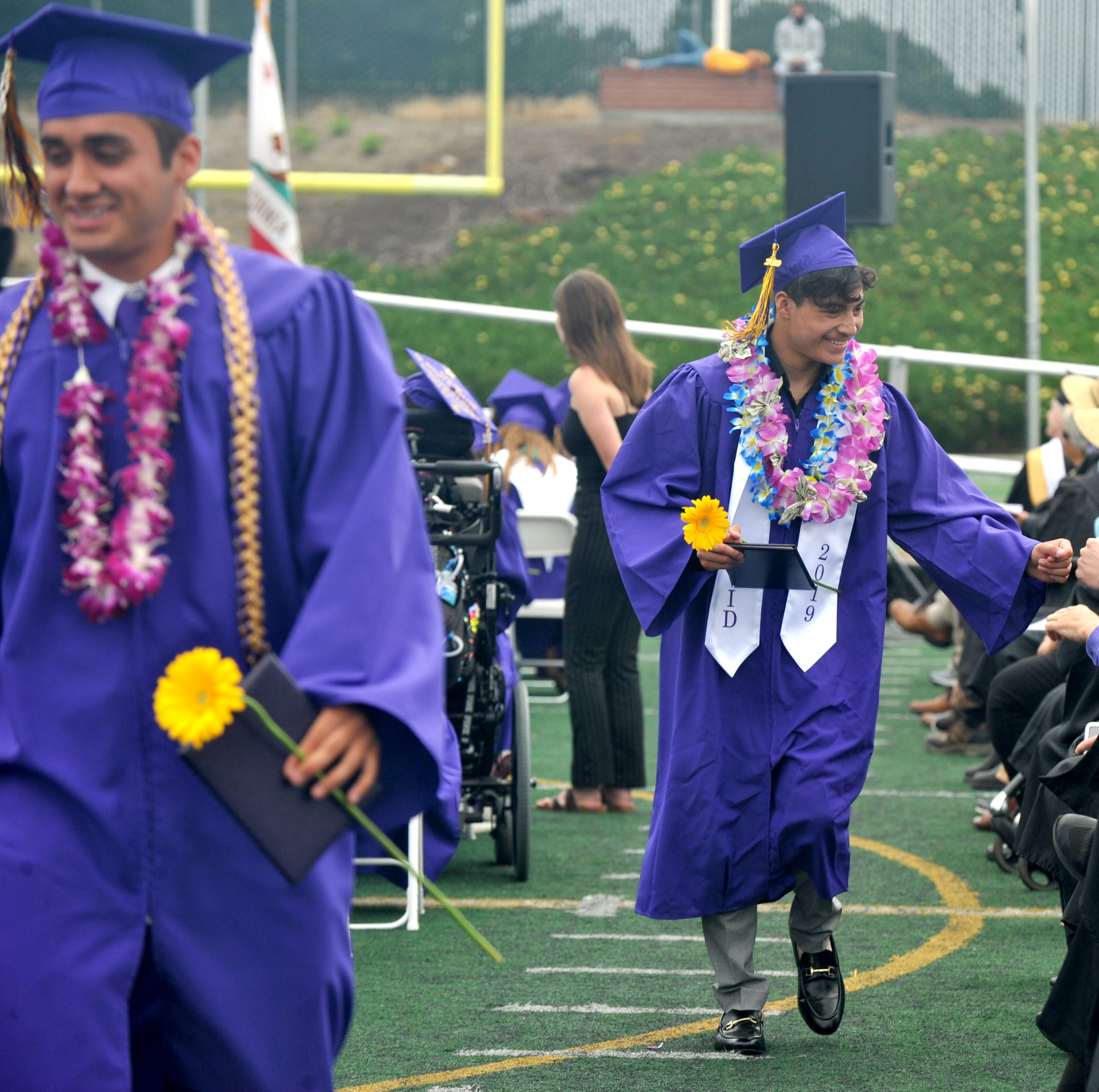 A century after Steinbeck, students across Salinas receive their high school diplomas