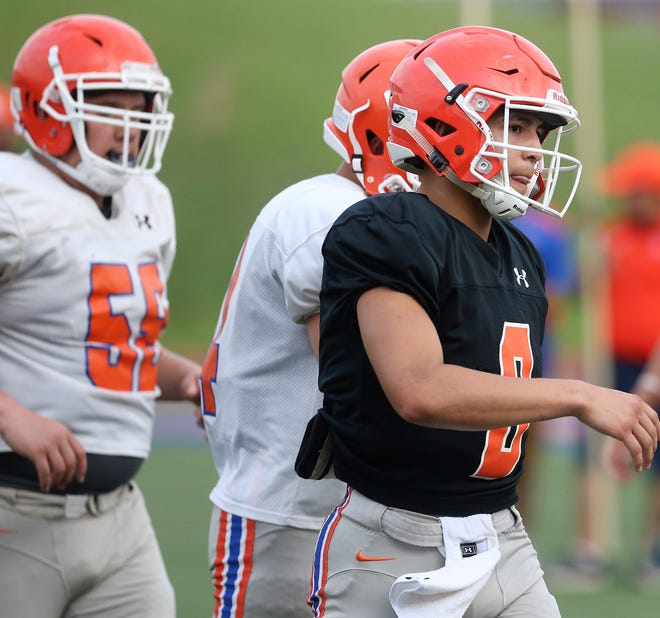 San Angelo Central High School junior quarterback Malachi Brown will be the Bobcats' trigger man in 2019.