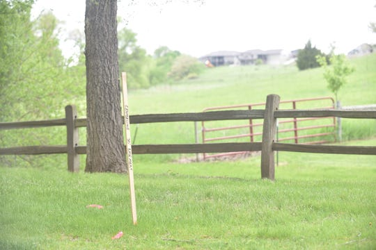 A proposed easement through the northwestern portion of the Mary Jo Wegner Arboretum would allow emergency access to the nearby Arbor's Edge development. In return, the city would be gifted additional land for the arboretum.