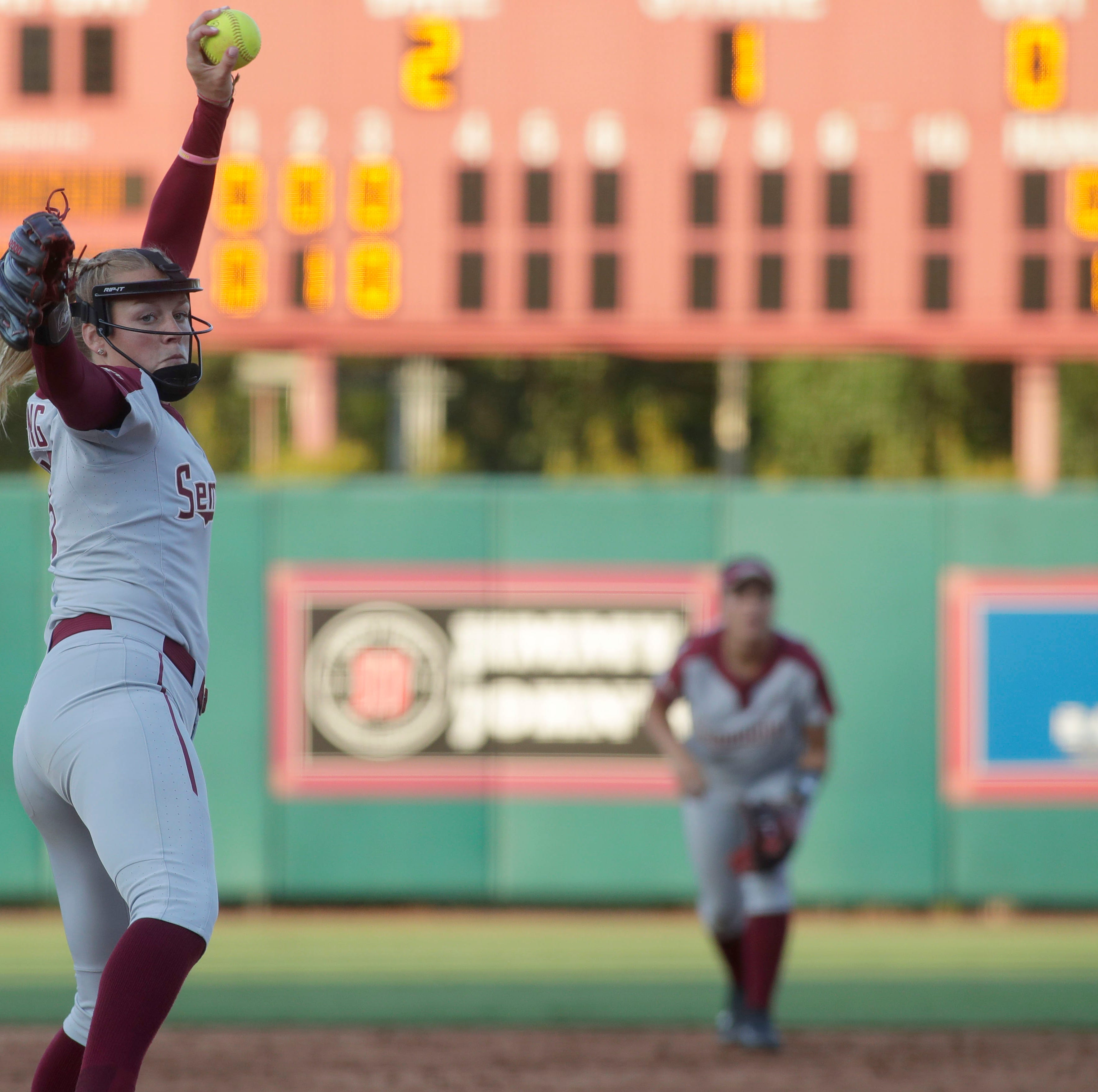 Florida State outdueled by Oklahoma State in Tallahassee Super Regional opener