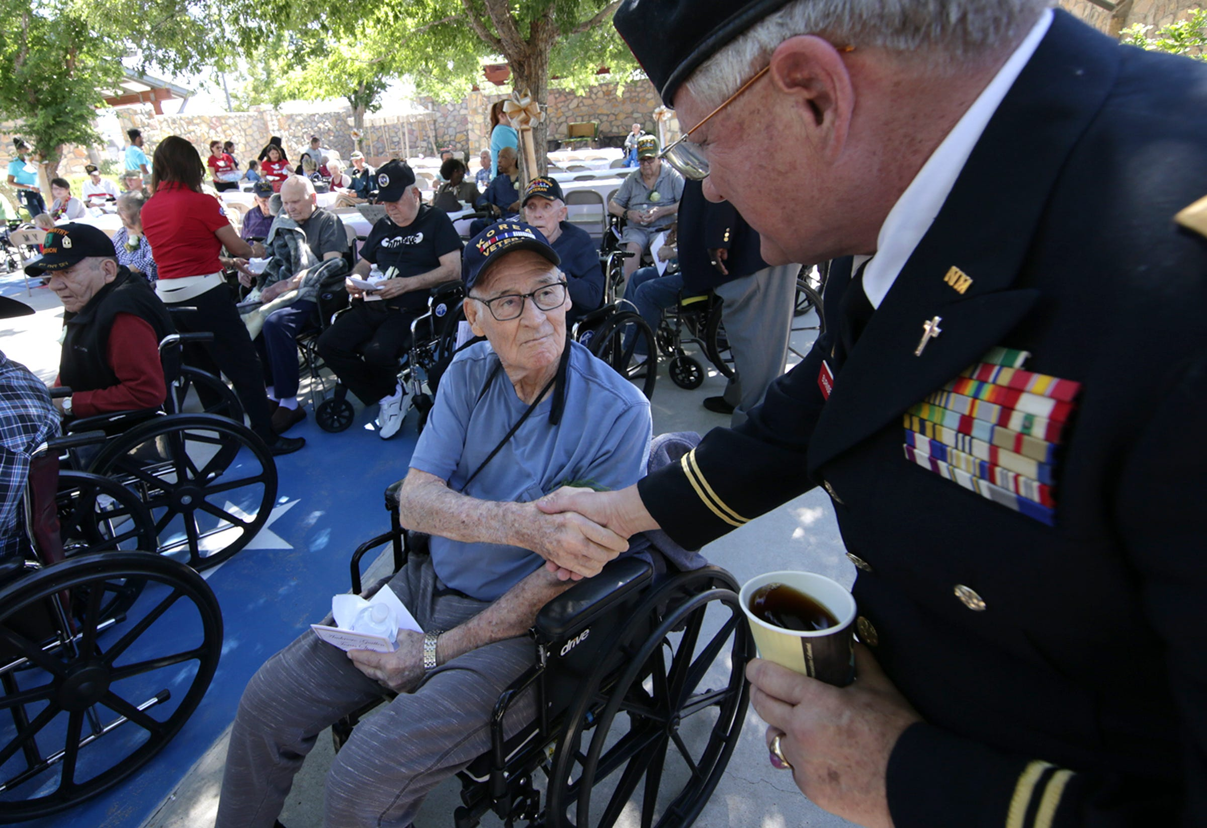 Memorial Day at the Ambrosio-Guillen State Veteran's Home