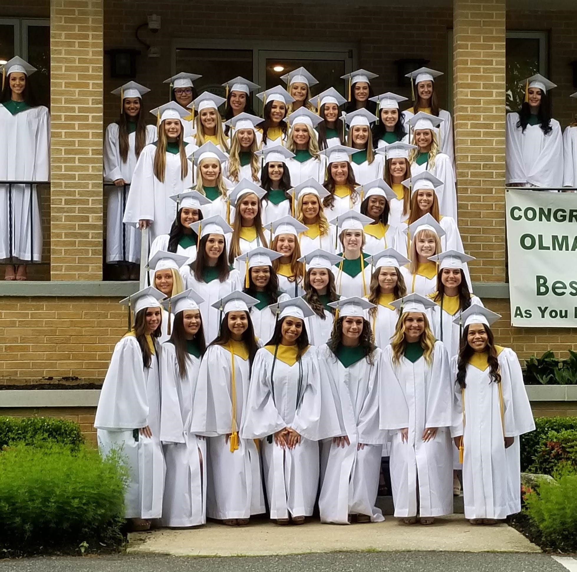 Our Lady of Mercy Academy's Class of 2019 graduates