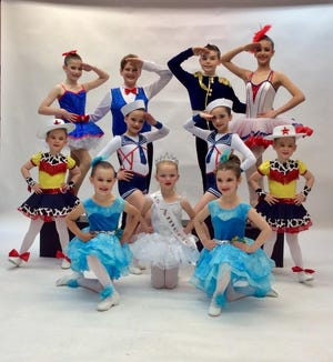 """Tap, jazz, modern and classical ballet routines will be featured as students from Maxine's Dance Studio's present""""The Spirit of American Dance."""""""