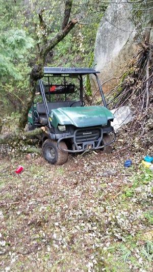 The victim said a Kawasaki Mule, a Kawasaki ATV and several items from the home, including guns were stolen.