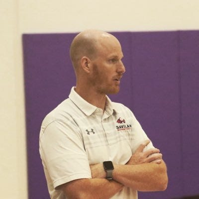 Dallas Jensen is the new head coach of the COS men's basketball team.