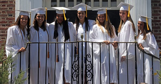 Ursuline School graduation in New Rochelle May 24, 2019.