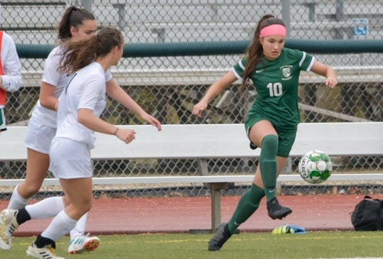 Archmere's Anna Garciai (10) is a Division II first-team selection.