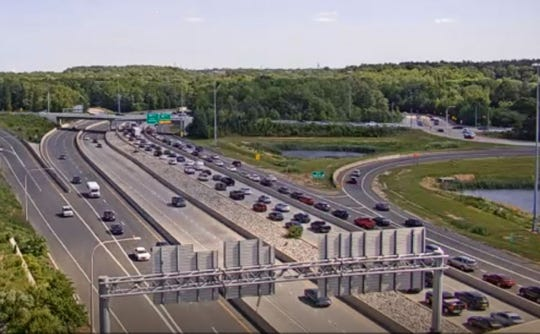 Memorial Day Weekend traffic has slowed heading downstate on Friday