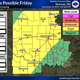 Storms possible through weekend for parts of North Texas