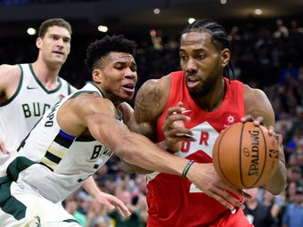 SportsPulse: USA TODAY Sports' Jeff Zillgitt and the Milwaukee Journal Sentinel's Matt Velasquez break down how the Raptors took a 3-2 lead on the Bucks in the Eastern Conference finals.