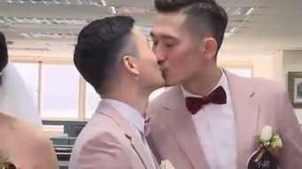 Taiwan officially allowed same-sex couples to register their marriages on Friday after the parliament passed new laws a week ago. (May 24)