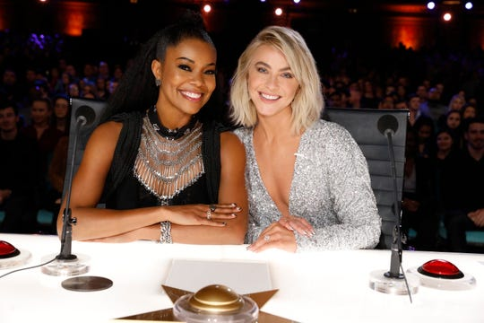 "Gabrielle Union and Julianne Hough joined ""America's Got Talent"" for Season 14, taking over the seats held by Mel B and Heidi Klum."