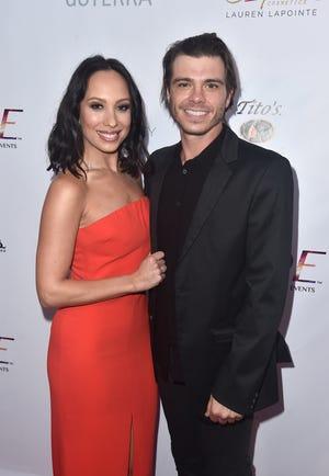 Newlyweds Cheryl Burke and Matthew Lawrence