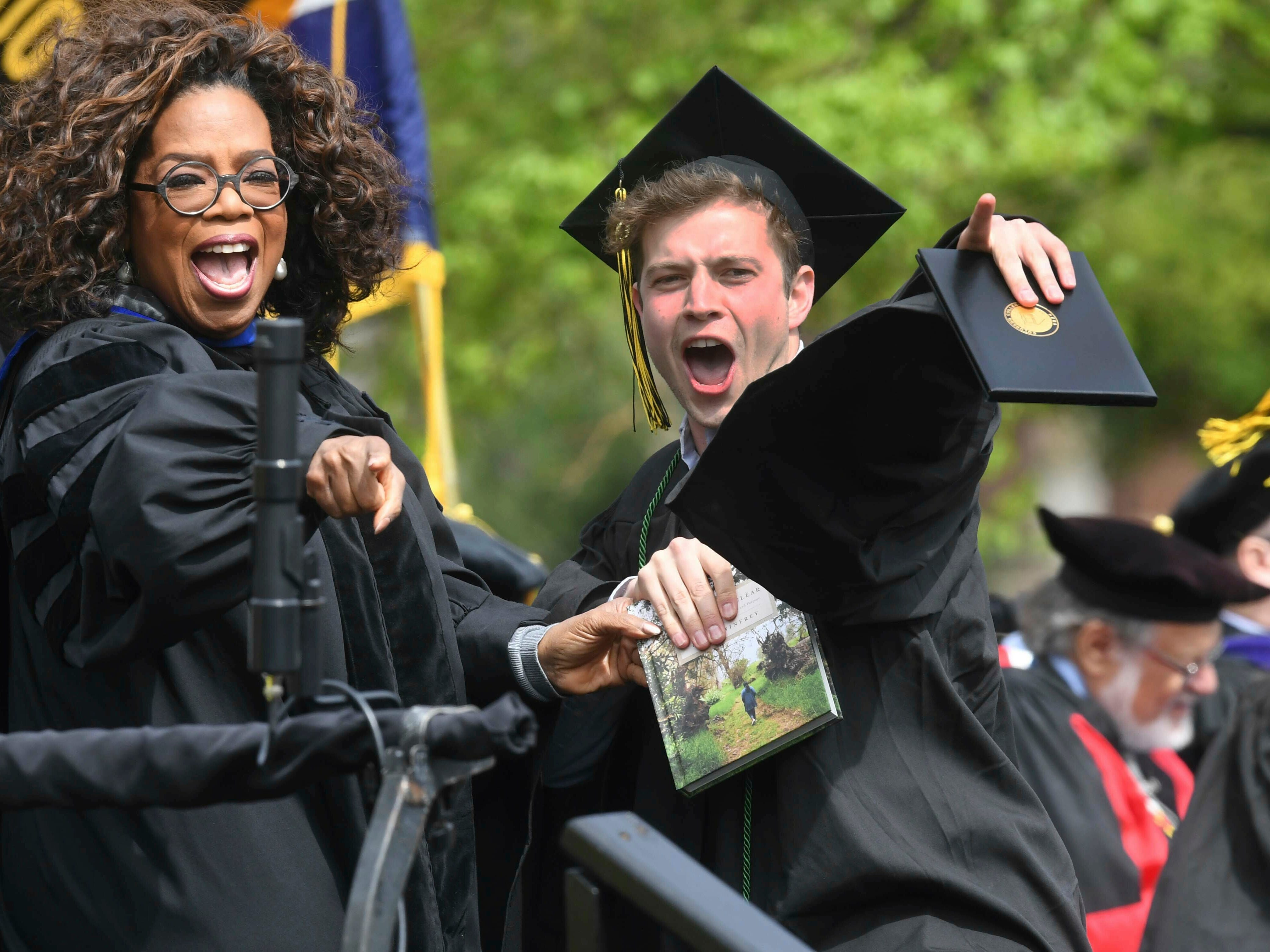 To the Class of 2019, thoughts from Oprah Winfrey, Mike Pence, Ken Jeong, Robert F. Smith and other commencement speakers