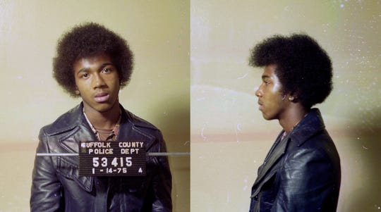Keith Bush's 1975 mugshot